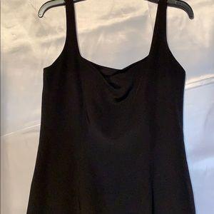 Dana Buchman Feather Silk Dress